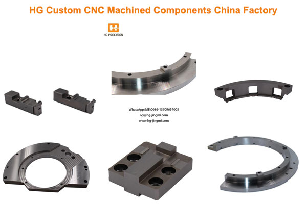 HG Custom CNC Machined Components China Factory