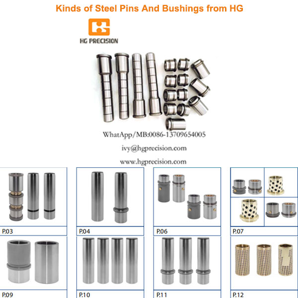 Steel Pins And Bushings - HG