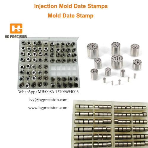 Injection Mold Date Stamps - HG Precision