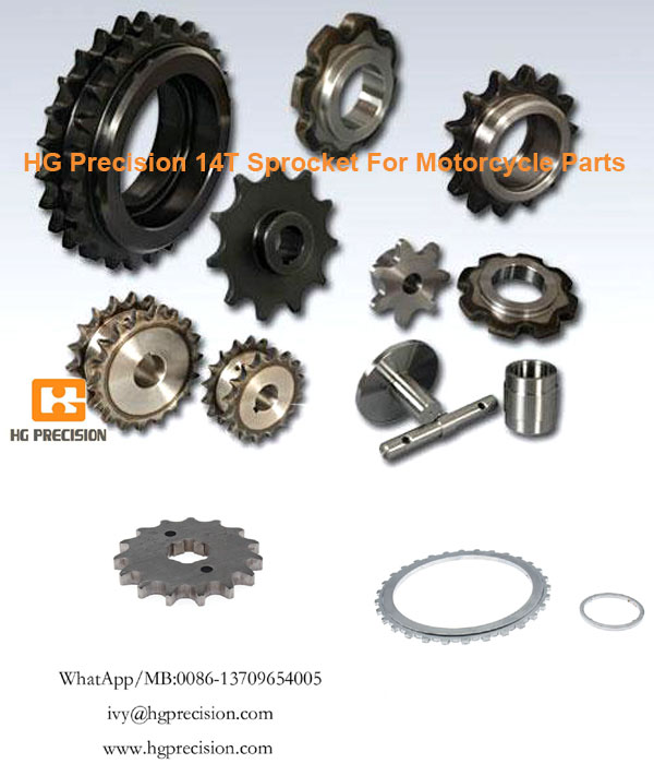 HG Precision 14T Sprocket For Motorcycle Parts In Bulk