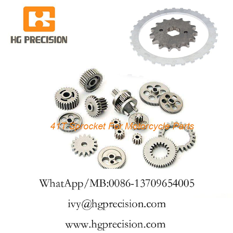 41T Sprocket For Motorcycle Parts - HG