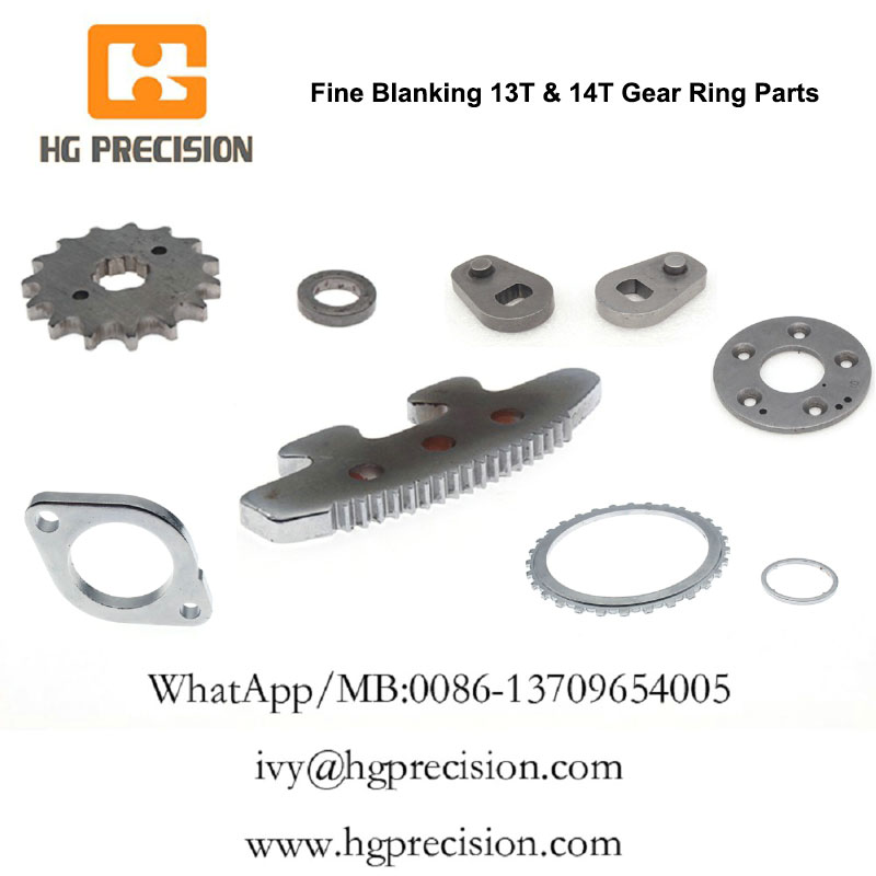 Fine Blanking 14T Gear Ring Parts In China - HG